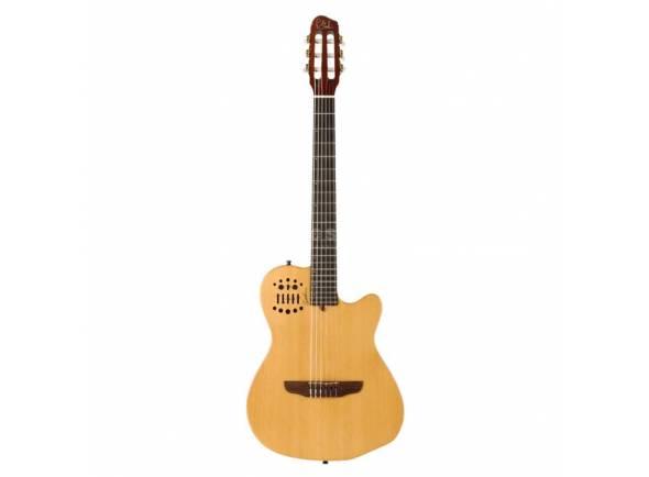 Guitarras clássicas eletrificadas Godin ACS Cedar Natural SG