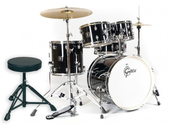 Batería completa Gretsch Drums Energy Black