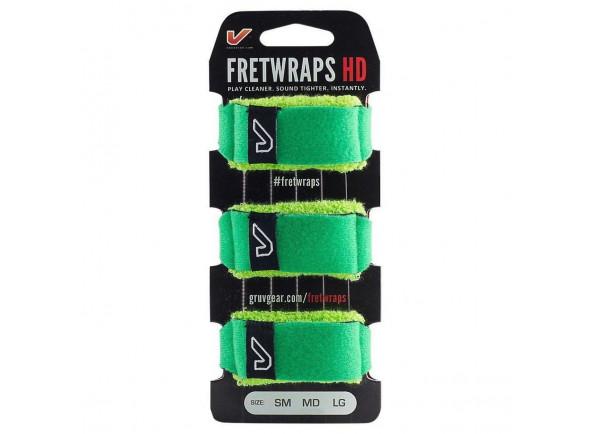 Outros acessórios Gruvgear   Fretwraps LG Leaf Green 3P