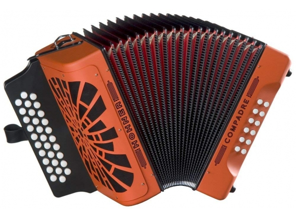 Concertina Hohner Compadre GCF orange