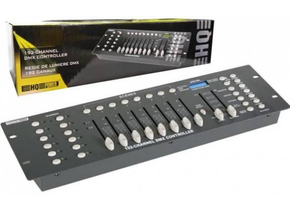HQ Power VDPC145  Controlador DMX 192 Canais HQ POWER VDPC145