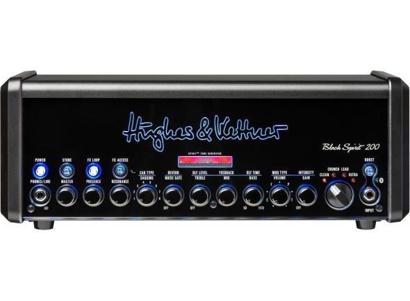 Cabeças de guitarra com modulação Hughes&Kettner Black Spirit 200 Head