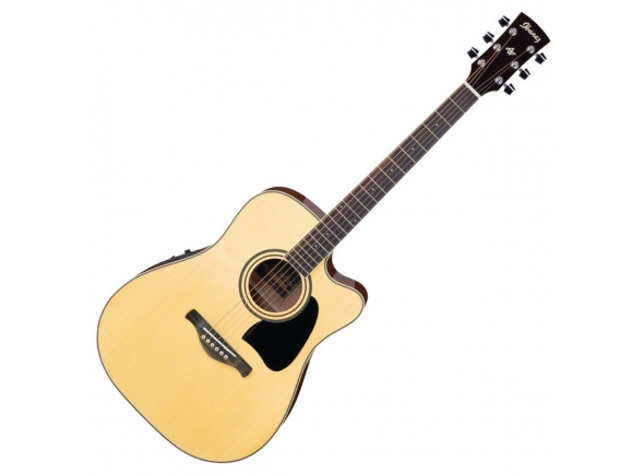 Guitarras Dreadnought Ibanez AW70ECE-NT