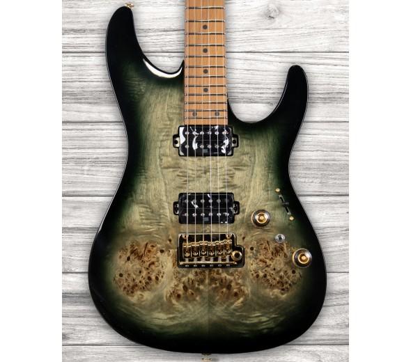 Guitarras formato ST Ibanez AZ242PBG-CKB Premium