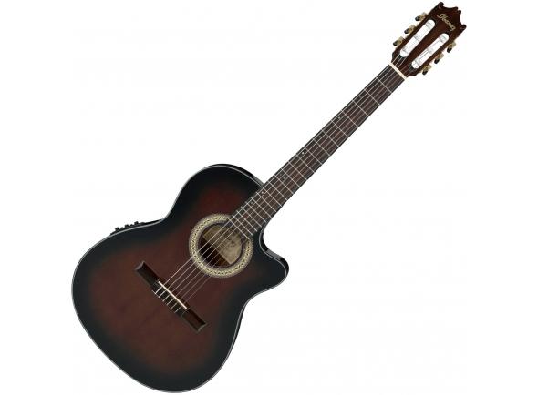 Guitarras clássicas eletrificadas Ibanez GA35TCE-DVS