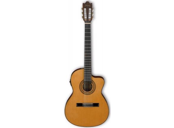 Guitarras clássicas eletrificadas Ibanez GA5TCE-AM