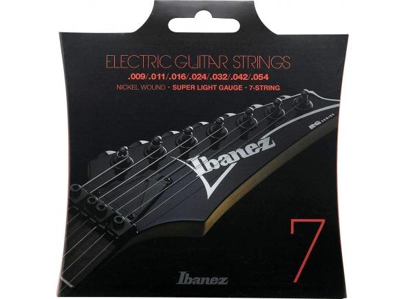 Jogo de cordas .009 Ibanez IEGS7 E-Guitar String Set 009