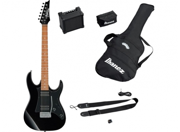 Packs de guitarra  Ibanez IJRX20-BKN Jumpstart Set