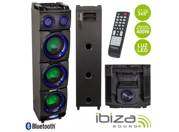 Ibiza COLUNA AMPLIFICADA 3X8