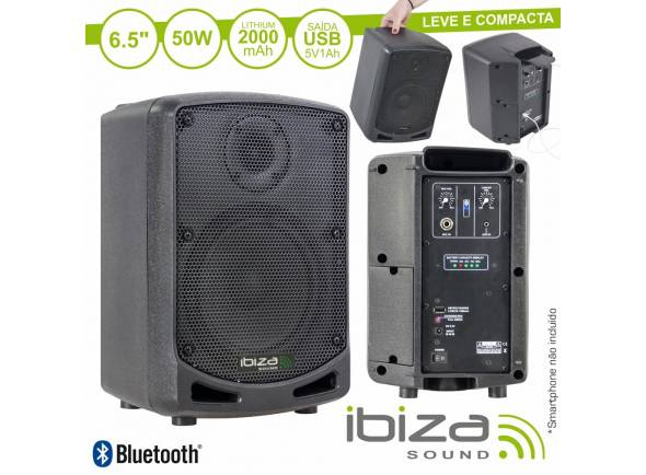 Ibiza Coluna POWER5-BT