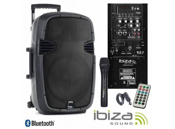 Sistemas Portáteis com Bateria Ibiza HYBRID10VHF-BT