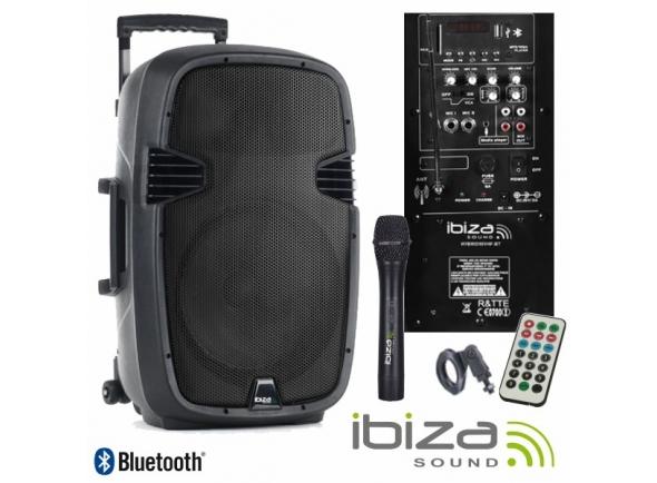 Sistemas Portáteis com Bateria Ibiza HYBRID10VHF-BT B-Stock