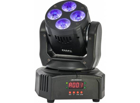 Moving Heads LED Ibiza LMH-MINIWASH