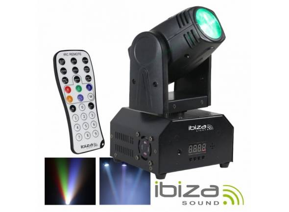 Moving Heads LED Ibiza LMH250-RC