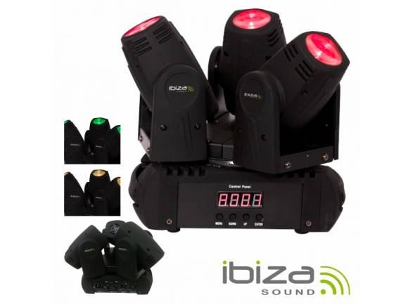 Moving Heads LED Ibiza LMH250LED-TRI