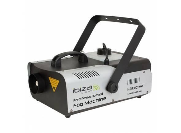 Ibiza LSM1200PRO  Máquina de Fumos 1200W CONTROLADOR/COMANDO DMX IBIZA LSM1200PRO