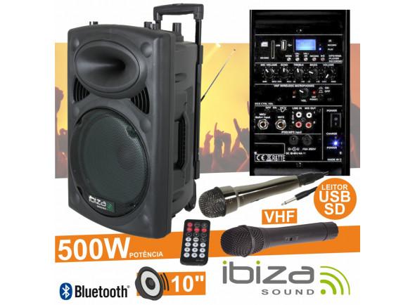 Sistemas Portáteis com Bateria Ibiza  PORT10VHF-BT