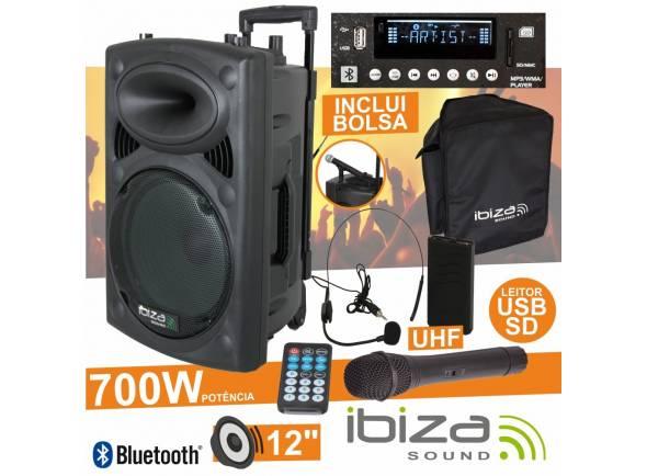 Ibiza PORT12UHF-BT