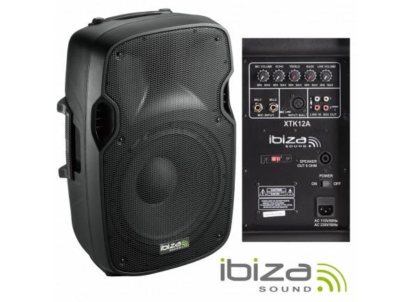 Colunas Amplificadas Ibiza XTK12A