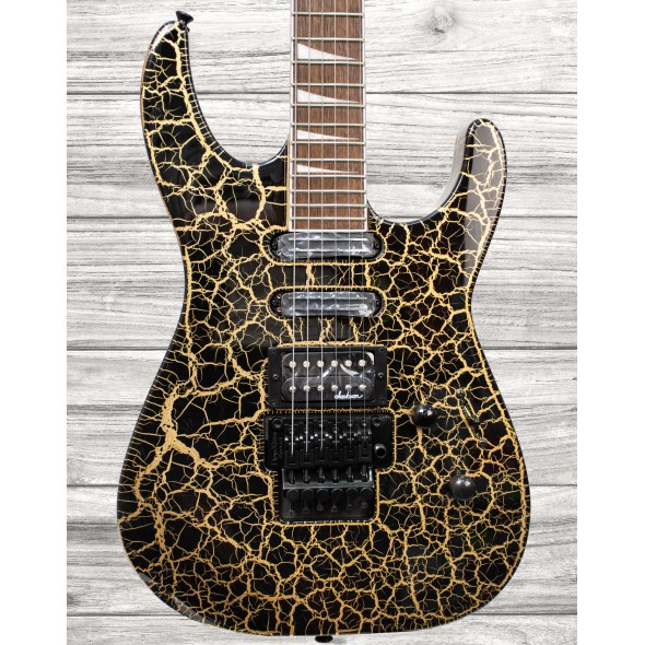 Jackson SL3XDX Soloist, Gold Crackle