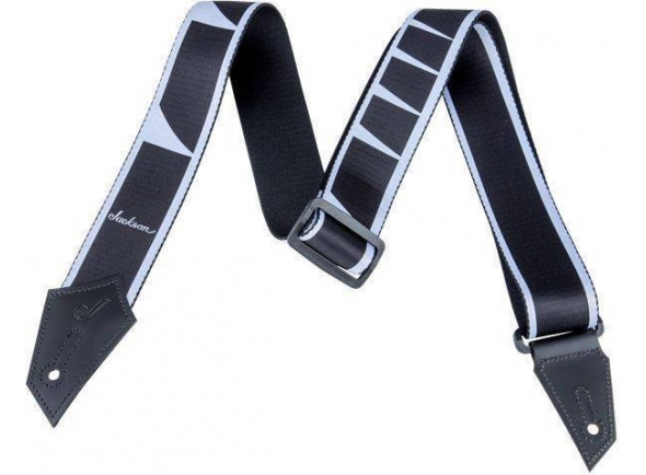 Jackson Strap Inlay Black/White
