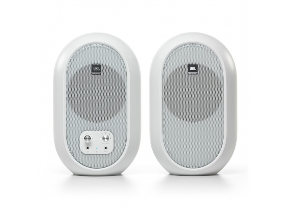 Monitores de estúdio JBL 104-BT Bluetooth Reference Monitors, White