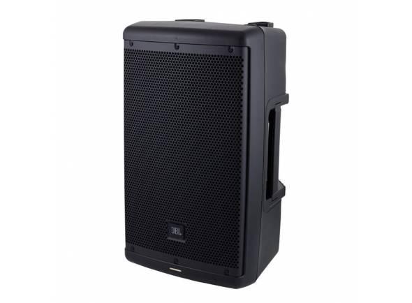 """JBL Eon 610   JBL Eon 610  Equipado com: tweeter de 10 """"woofer e 1,5""""  Bi-amplificação de 2 vias: Woofer de 700 W + tweeter de 300 W (pico)  Potência: 500 W RMS / 1000 W Peak  SPL pico: 124 dB  Faixa de freqüência (-10 dB): 52 - 20.000 Hz  Frequencia de Resposta (± 3 dB) 60 Hz - 20 kHz  Padrão de cobertura: H / W 110 ° x 60 °  Entradas: 2x Mic / Line  4 predefinições, configurações adicionais possíveis via Bluetooth  Com suporte de 36 mm  3 x pontos M10 Rigging  Caixa de plástico  Dimensões: 558 x 322 x 295 mm  Peso: 11,8 kg  Cor: preto"""