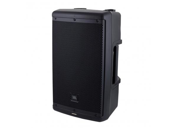 """JBL Eon 610 B-Stock   JBL Eon 610  Equipado com: tweeter de 10 """"woofer e 1,5""""  Bi-amplificação de 2 vias: Woofer de 700 W + tweeter de 300 W (pico)  Potência: 500 W RMS / 1000 W Peak  SPL pico: 124 dB  Faixa de freqüência (-10 dB): 52 - 20.000 Hz  Frequencia de Resposta (± 3 dB) 60 Hz - 20 kHz  Padrão de cobertura: H / W 110 ° x 60 °  Entradas: 2x Mic / Line  4 predefinições, configurações adicionais possíveis via Bluetooth  Com suporte de 36 mm  3 x pontos M10 Rigging  Caixa de plástico  Dimensões: 558 x 322 x 295 mm  Peso: 11,8 kg  Cor: preto"""