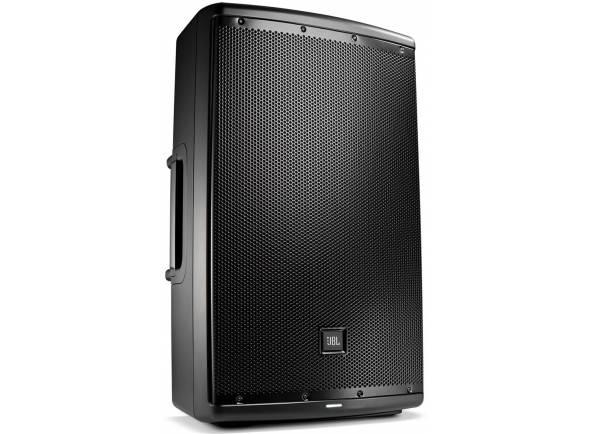 """JBL Eon 615  Sonorização de 15"""" bidirecional multiuso autoalimentada   Tipo de sistema: autoalimentado, 15"""", bidirecional , bass-reflex  Saída SPL máxima: 127 dB  Intervalo de frequência: (-10 dB)39 Hz - 20 kHz"""