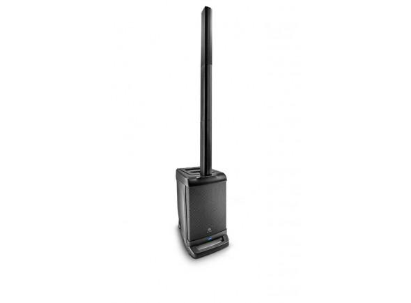 """JBL Eon One B-Stock   JBL Eon One  Subwoofer de 10 """", bem como um coluna com coluna de 6x 2"""" com dois espaçadores  sistema de alto-falante compacto para concertos e conferências  380 watts  118 dB SPL  6 canais de potência Som  misturador construído com EQ e reverb para conexão de múltiplos sinais (microfones, instrumentos, CD ou MP3 player)  conectores para XLR, jack, mini jack e RCA  canal 1-2 com graves, agudos, reverb, seletor de microfone / linha E entrada combinada de 6,3 mm / XLR, canal 3/4, com tomada de 6,3 mm (estéreo) ou 2x RCA, Canal 5/6 com transmissão de áudio de 3,5 mm ou Bluetooth  amplificador Digital Class-D  1x 10 """"Sub 6x 2"""" Unidade superio  potência: 250 watts (LF) 130 Watt HF, Max SPL pico: 118 dB  dimensões 593mm x 369mm x 434mm, peso: 18,5 kg,"""