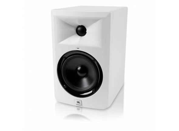 JBL LSR 305 WH  Monitor de Estúdio JBL LSR305