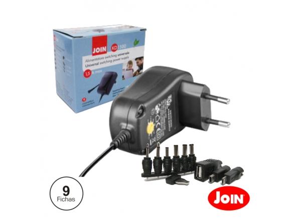 Diversos Join Alimentador Compacto Comutado 3-12V 2.25A 27W