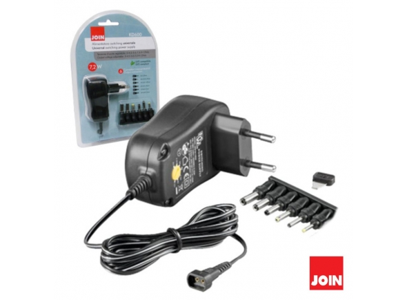 Join KD2520 ALIMENTADOR COMPACTO UNIVERSAL 9-24V 1,5A 24W