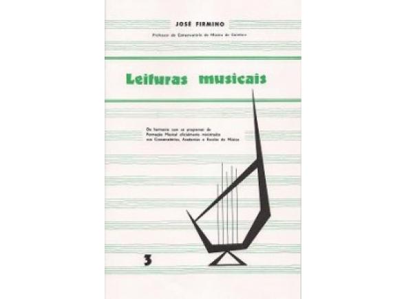 Livro de canções José Firmino Leituras Musicais 3