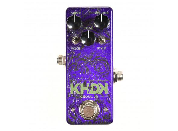 Pedal de distorção KHDK   Ghoul JR Kirk Hammett