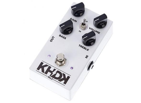 Pedal de distorção KHDK   No. 2 Clean Boost