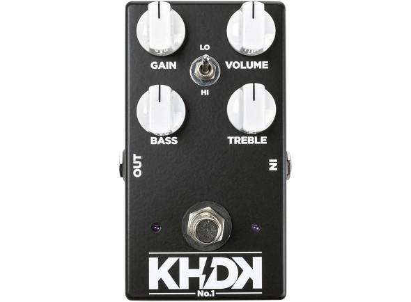 Pedal de distorção KHDK   No.1 Overdrive