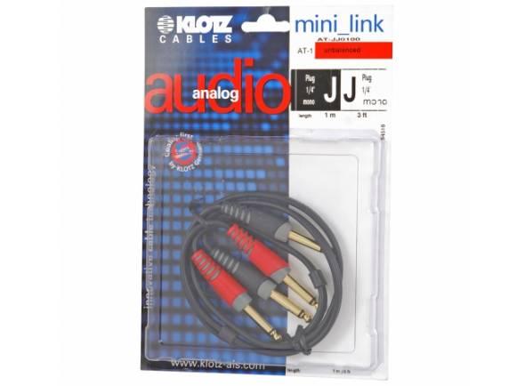 Cabos de áudio Klotz AT-JJ0100