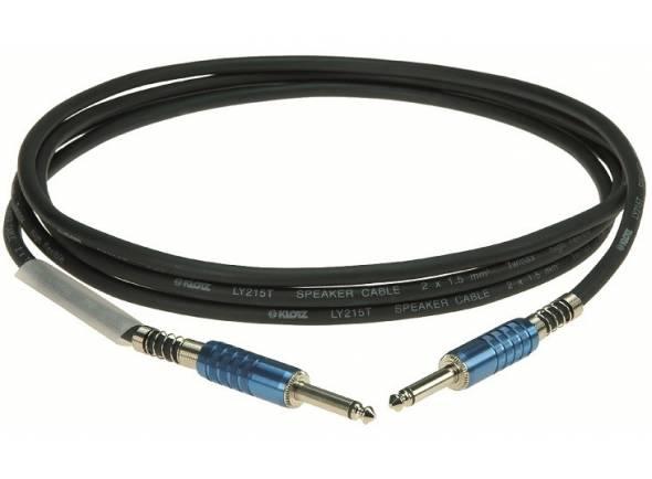 Cables de altavoz Klotz Cabo Coluna SC1PP01SW Jack 1m