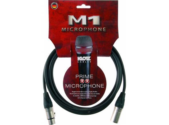 Cabos XLR / Microfone Klotz M1FM1N0300