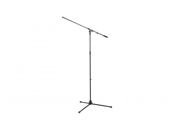 K&M 21021 Overhead Stand  Concebido especialmente para utilização em estúdio e para gravação de bateria. Maior e mais resistente do que a maioria dos suportes comuns.
