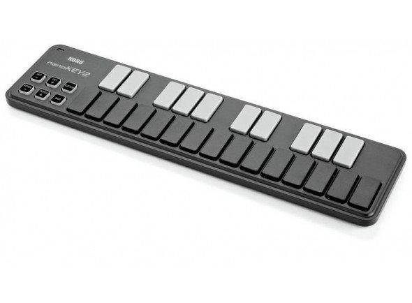 Teclados MIDI Controladores Korg nanoKEY 2 black