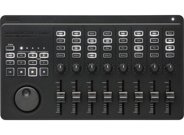 Controladores de DAW Korg nanoKONTROL Studio