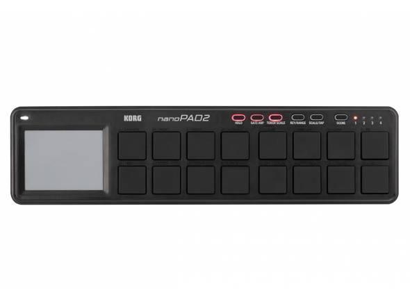 Controladores de DAW Korg nanoPAD 2 black