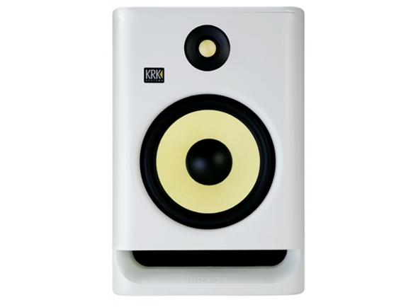 Monitores de estúdio activos KRK RP8 G4 WHITE
