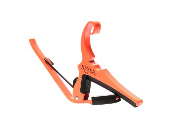 Transpositor para guitarra elétrica e guitarra acústica Kyser   KG6NGA Neon Orange