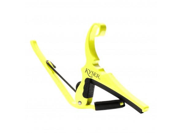 Transpositor para guitarra elétrica e guitarra acústica Kyser   KG6NGA Neon Yellow