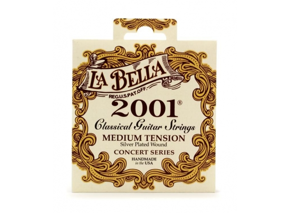 La Bella 2001 Medium Tension