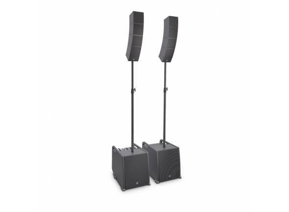 LD Systems Curv 500 PS  Para reforço de som monitor e PA Aparência discreta para aplicações discretas