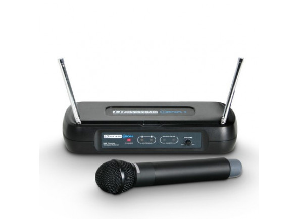 Sistema sem fios com microfone de mão LD Systems  ECO 2 HHD B6 II